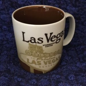 Starbucks City Mugs Las Vegas '09 Collector Series